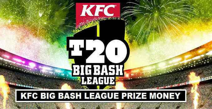 Big Bash League 2019-2020 Prize Money