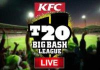 Big Bash Live Score
