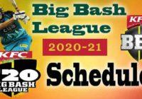 BBL Schedule