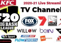 Big Bash Live Streaming TV Channels list