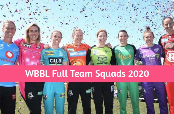 WBBL Full Teams Squads - Players name