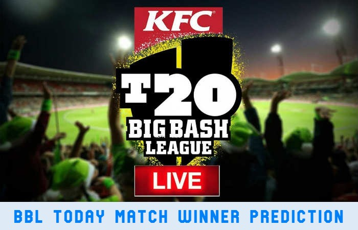 BBL Today Match Winner Predictions