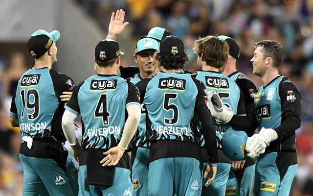 Brisbane Heat men team squad