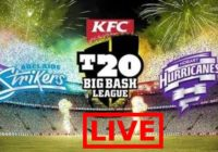 Hobart Hurricanes vs Adelaide Strikers Live Streaming