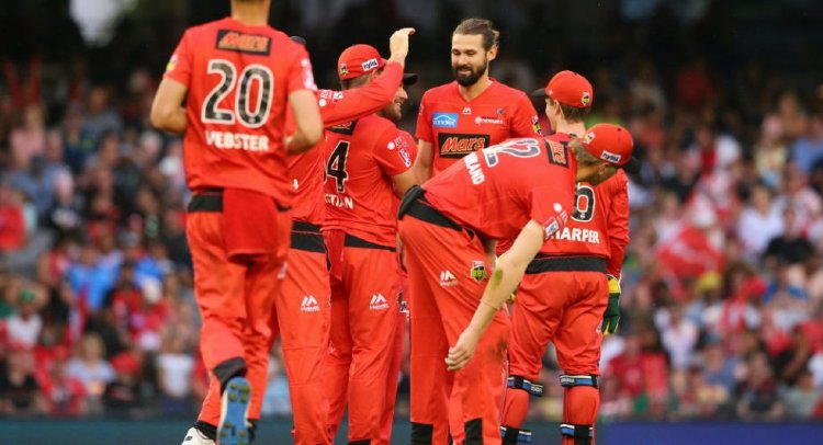 Melbourne Renegades Team Squad
