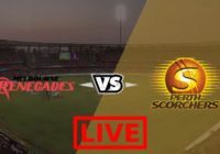 Melbourne Renegades vs Perth Scorchers Live Streaming