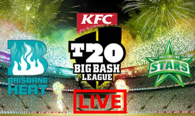 Melbourne Stars vs Brisbane Heat Live Streaming