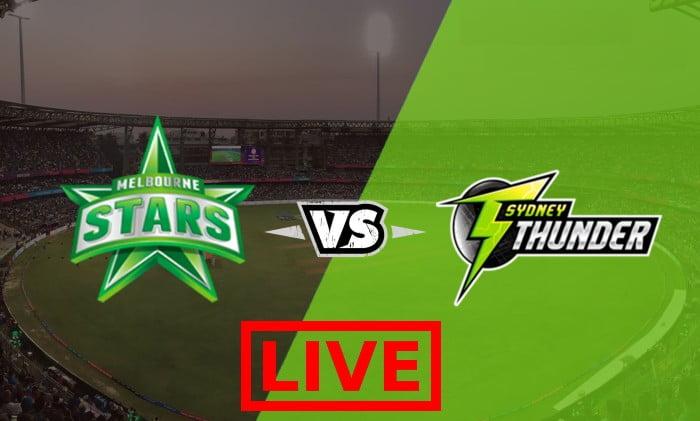 Melbourne Stars vs Sydney Thunder Live Streaming