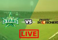 Perth Scorchers vs Melbourne Stars Live Streaming