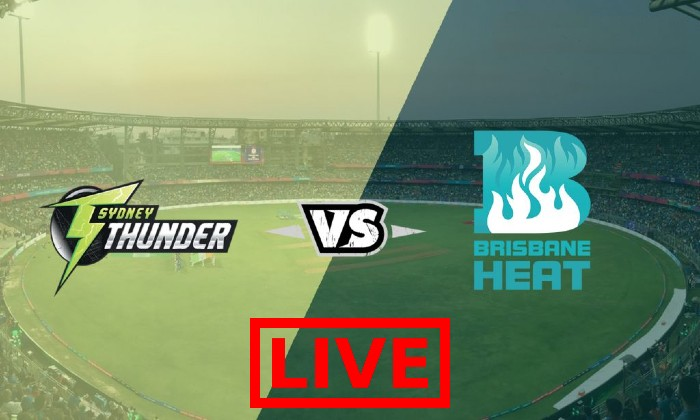 Sydney Thunder vs Brisbane Heat Live Streaming