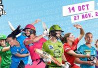 Women's BBL latest Schedule pdf download